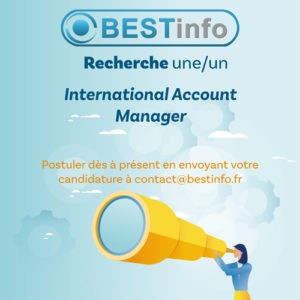 recrutement international account manager